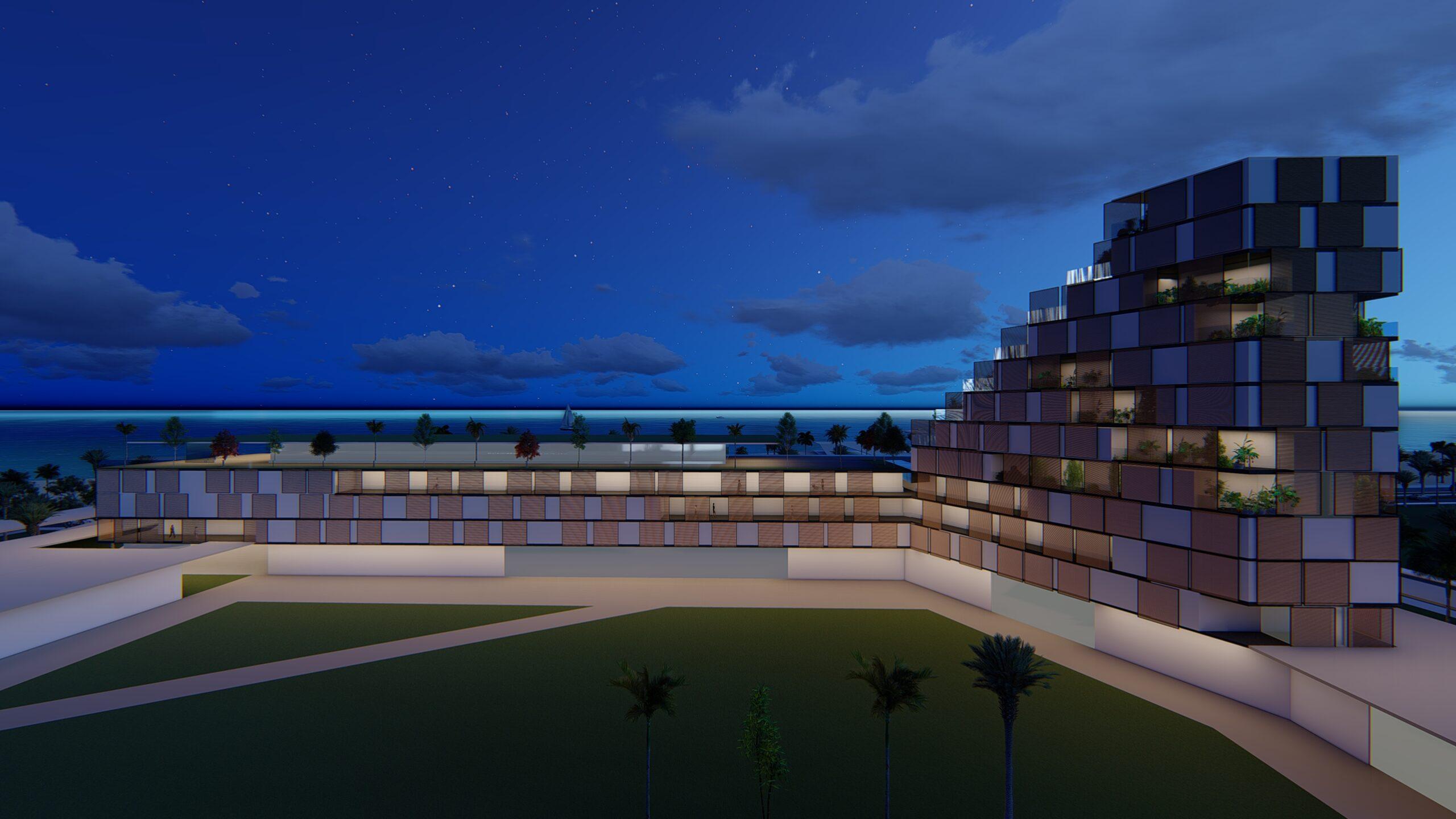 Panorama luxury resort in Luanda