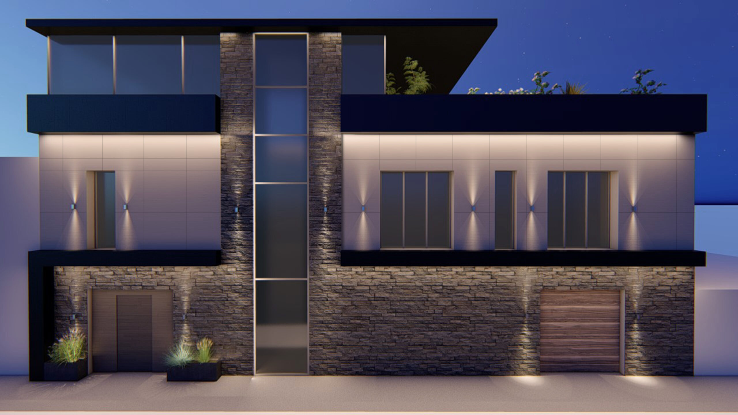 Facade restyling