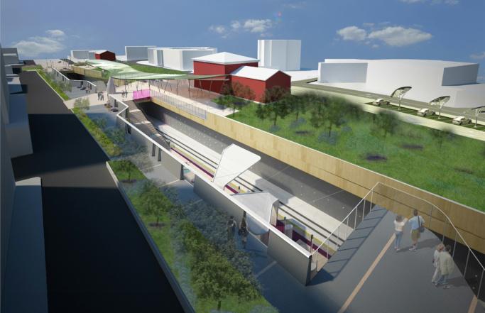 Interramento ferroviario Modugno (BA)